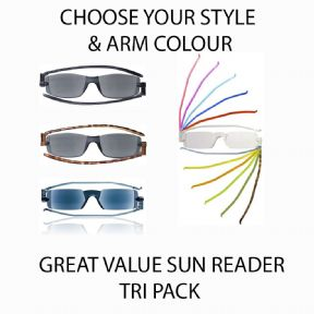 Compact Sun Readers Tri Pack